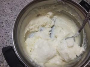 крем от нишесте и брашно